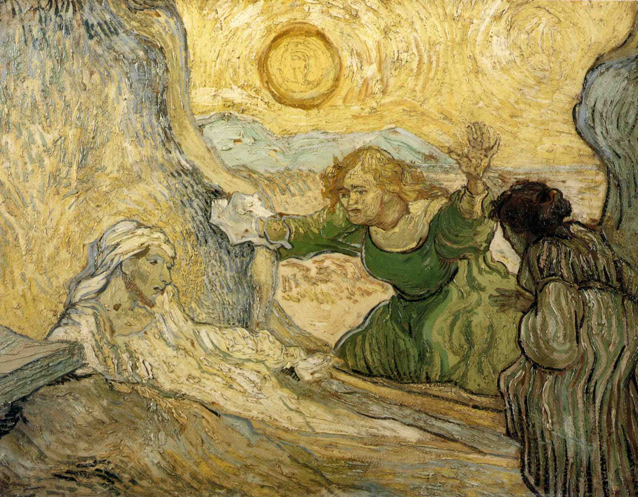 1890–vincent Van Gogh—the Rising Of Lazarus After A